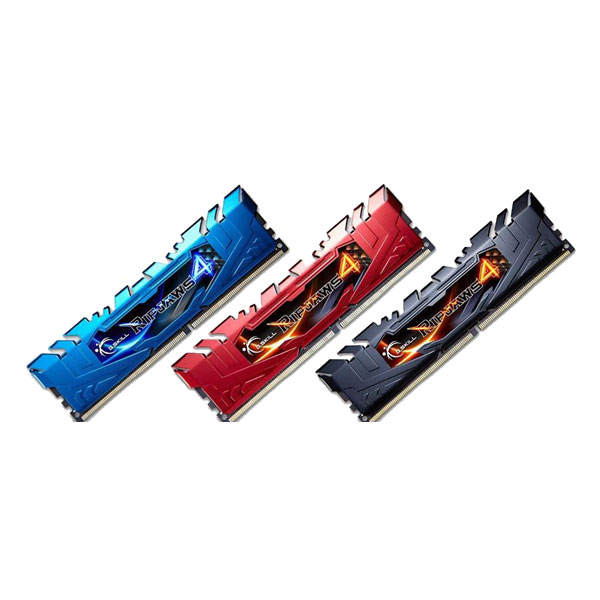RAM Gskill Ripjaws4 DDR4 16GB (4GB x 4) 3000MHz CL15 Quad Channel