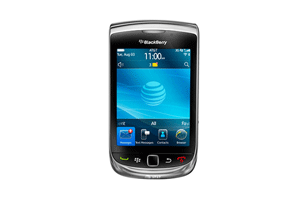 Mobile BlackBerry Torch 9800