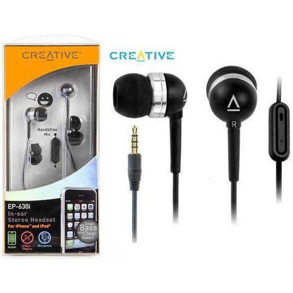 Headphone Creative EP-630i Earphone هدفون کریتیو ایرفون EP-630i