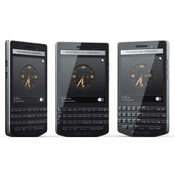 Mobile BlackBerry Porsche Design P