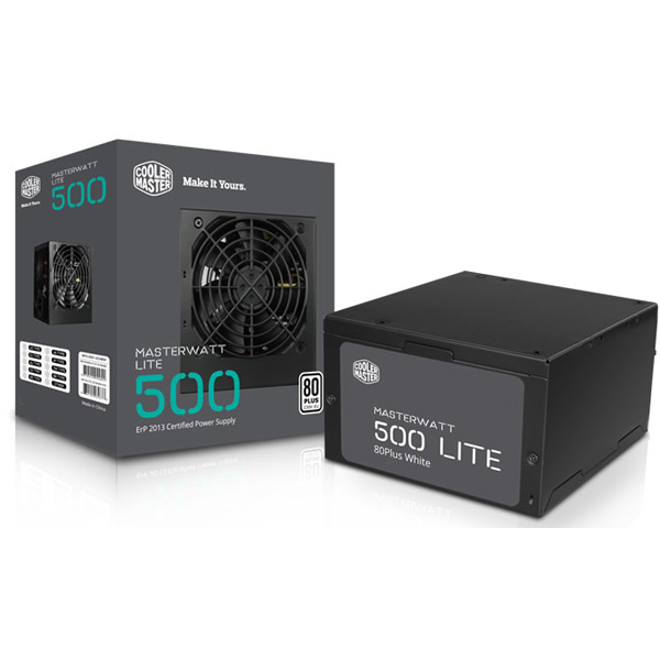 Power Cooler Master MasterWatt Lite 500W 80Plus