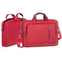 Laptop Bag RivaCase 7530 Bag For 15.6 Inch Red کیف لپ تاپ ریواکیس 7530 Bag For 15.6 Inch Red
