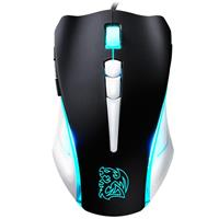 Mouse TteSPORTS BLACK Element COMBAT WHITE Gaming موس تی تی ای اسپورت گیمینگ المنت کمبت مدل MO-BLE001DTG01