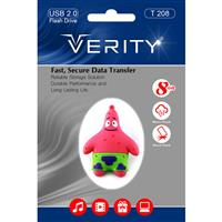Flash Memory VERITY T208 - 8.0GB فلش مموری وریتی T208 - 8.0GB