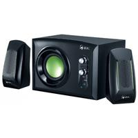 Speaker GeniusGX SW-G2.1 1200 2.1 Channel System اسپیکر جنیوس جی ایکس SW-G2.1 1200 2.1 Channel System