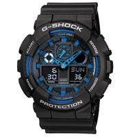 Watch - SmartBand Casio G-Shock GA-100-1A2 ساعت و مچ پند کاسیو G-Shock GA-100-1A2
