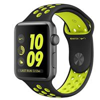 Watch - SmartBand Apple Watch 2 Nike Plus 42mm Space Gray with Black/Volt Band ساعت و مچ پند اپل Watch 2 Nike Plus 42mm Space Gray with Black/Volt Band