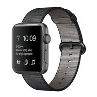 Watch - SmartBand Apple Watch 2 42mm Space Gray Aluminum Case with Black Woven Nylon ساعت و مچ پند اپل Watch 2 42mm Space Gray Aluminum Case with Black Woven Nylon