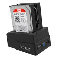 HDD Box ORICO 6628US3-C 2.5 inch and 3.5 inch HDD Dock باکس هارد اوریکو 6628US3-C 2.5 inch and 3.5 inch HDD Dock